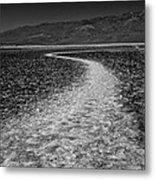 Salt Road Metal Print