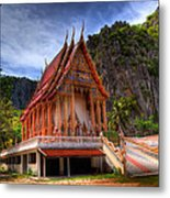 Sam Roi Yot Temple Metal Print