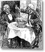 Samuel Clemens Cartoon Metal Print