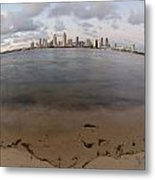 San Diego Bay Metal Print by Margaret Pitcher