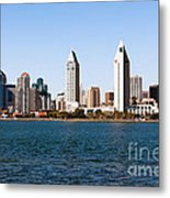 San Diego City Skyline Metal Print