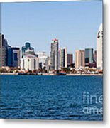 San Diego Skyline Buildings Metal Print
