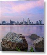 San Diego Skyline Metal Print