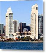San Diego Skyscrapers Metal Print