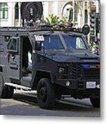 San Diego Swat Metal Print