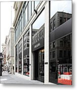 San Francisco - Maiden Lane - Prada Italian Fashion Store - 5d17800 Metal Print by Wingsdomain Art and Photography