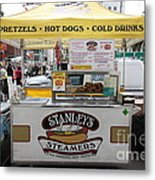San Francisco - Stanley's Steamers Hot Dog Stand - 5d17929 Metal Print