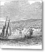 San Francisco Bay, 1849 Metal Print