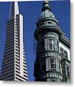 San Francisco Buildings Metal Print