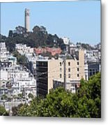 San Francisco Coit Tower Metal Print