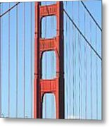 San Francisco Golden Gate Bridge . 7d7804 Metal Print