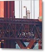 San Francisco Golden Gate Bridge . 7d8115 Metal Print