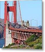San Francisco Golden Gate Bridge . 7d8151 Metal Print