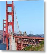 San Francisco Golden Gate Bridge . 7d8157 Metal Print