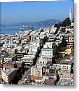 San Francisco Metal Print by Luiz Felipe Castro