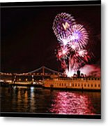 San Francisco New Years Eve Metal Print