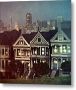 San Francisco Night Metal Print