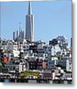 San Francisco Panorama Metal Print