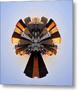 San Francisco Samourai - Stereographic Metal Print