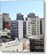 San Francisco Skyline . 7d7490 Metal Print