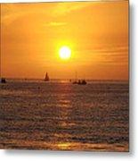 San Juan Capistrano Beach Sunset Metal Print