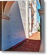 San Luis Rey Courtyard Metal Print
