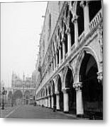 San Marco Square In Venice Metal Print