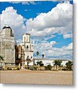 San Xavier Mission Tucson Az  Metal Print