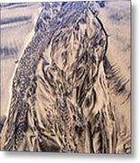 Sand Painting 55 Metal Print