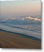 Sand Sea And Sky Metal Print
