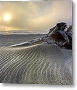 Sand Wrinkles Metal Print