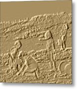 Sandland Metal Print