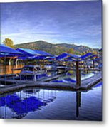 Sandpoint Marina And Power House 2 Metal Print