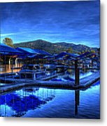 Sandpoint Marina And Power House 3 Metal Print