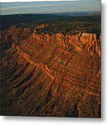 Sandstone-capped Escarpment Metal Print