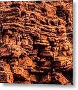 Sandstone Wall Metal Print