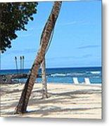 Sandy Beach Metal Print