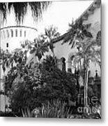 Santa Barbara Courthouse Metal Print