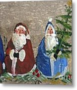 Santa Collector Metal Print