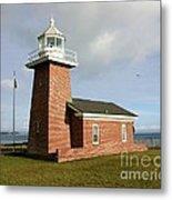 Santa Cruz Lighthouse Metal Print