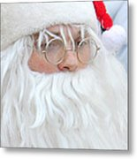 Santa In Bethlehem March For Peace And Unity Metal Print
