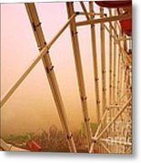 Santa Monica California Ferris Wheel Metal Print