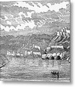 Santiago De Cuba, 1853 Metal Print