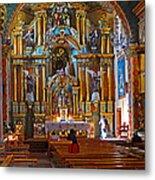 Santuario Mariano Interior Metal Print
