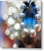 Saphire Sparkle Metal Print