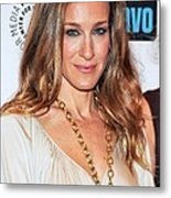 Sarah Jessica Parker At Arrivals Metal Print by Everett