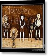 Sarah's Monster High Collection Sepia Metal Print