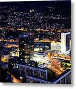 Sarajevo By Night Metal Print