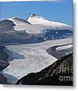 Saskatchewan Glacier Banff National Park Metal Print