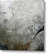 Satellite View Of Eastern Canada Metal Print